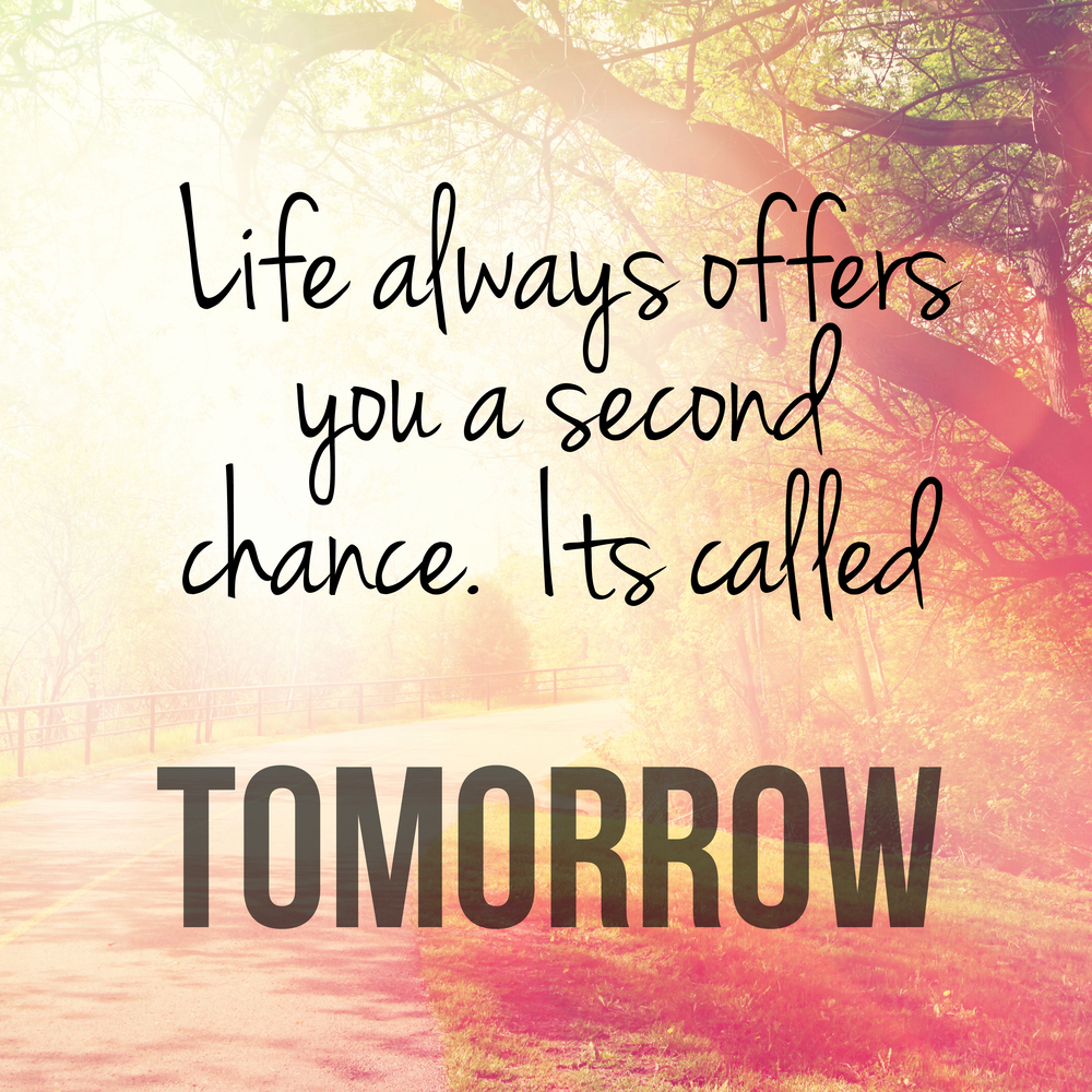 Life Offers You A Second Chance